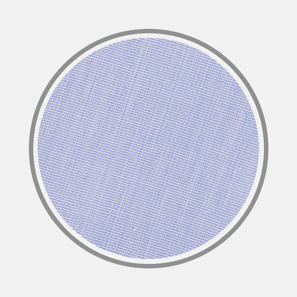 Blue End-on-End Cotton Fabric