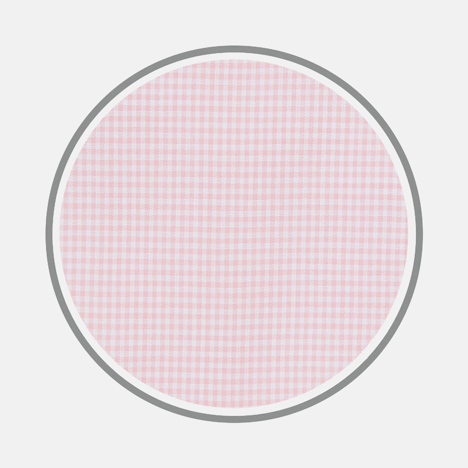 Pink Micro Check Zephyr Cotton Fabric