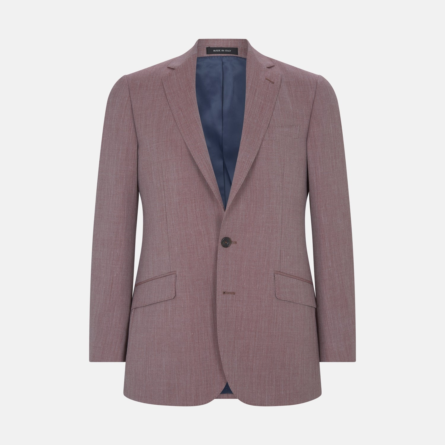 Benedict Dusty Pink Linen Blend Jacket