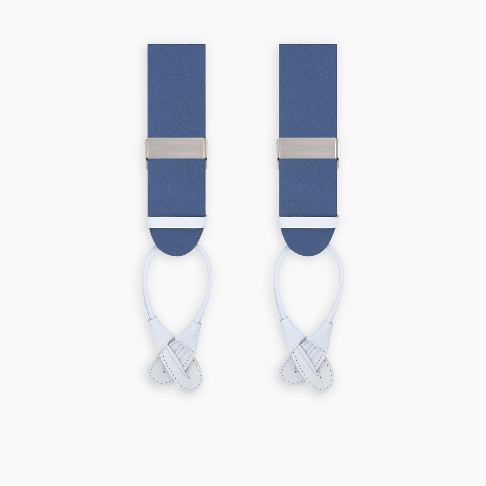 Blue Adjustable Felt Braces