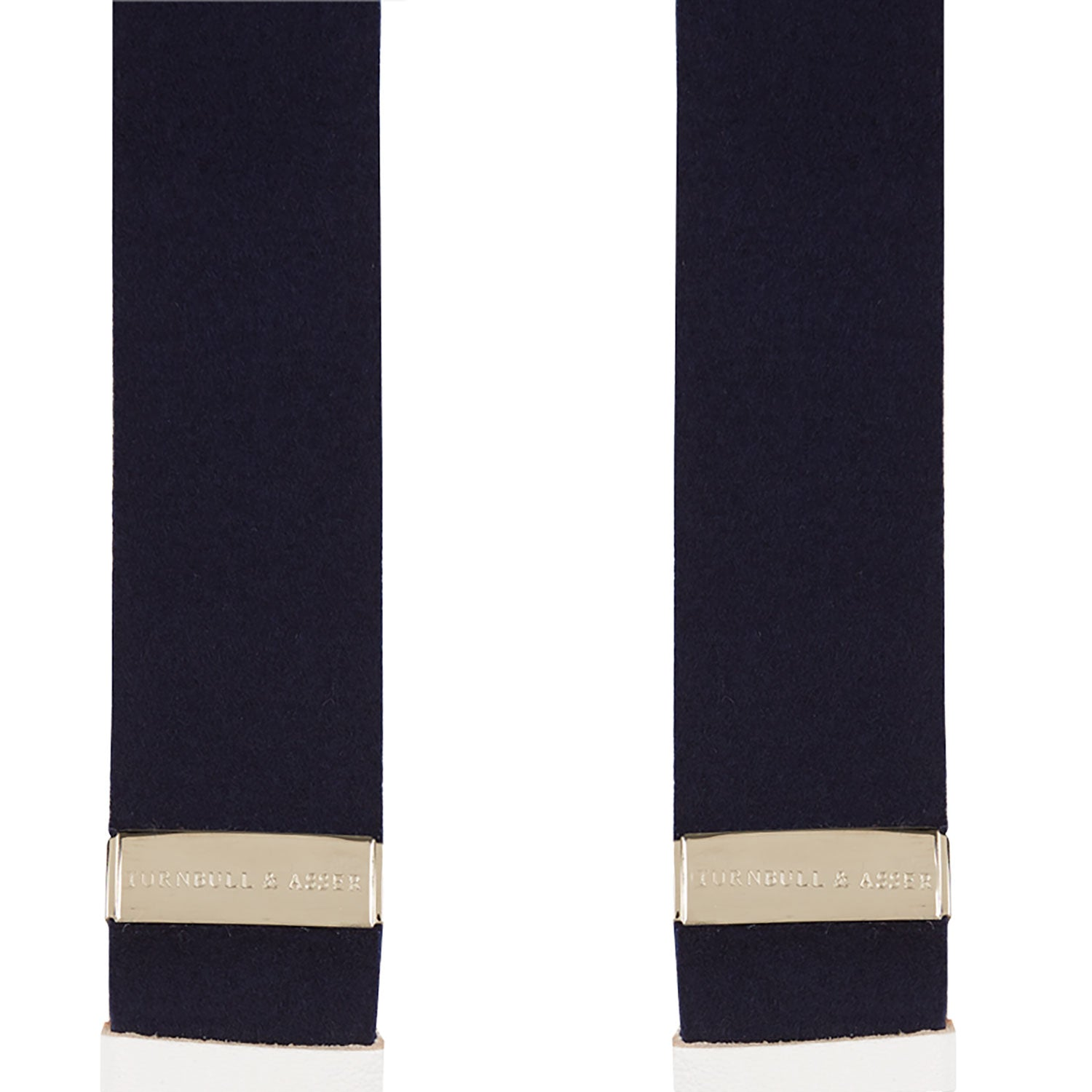 Navy Adjustable Felt Braces