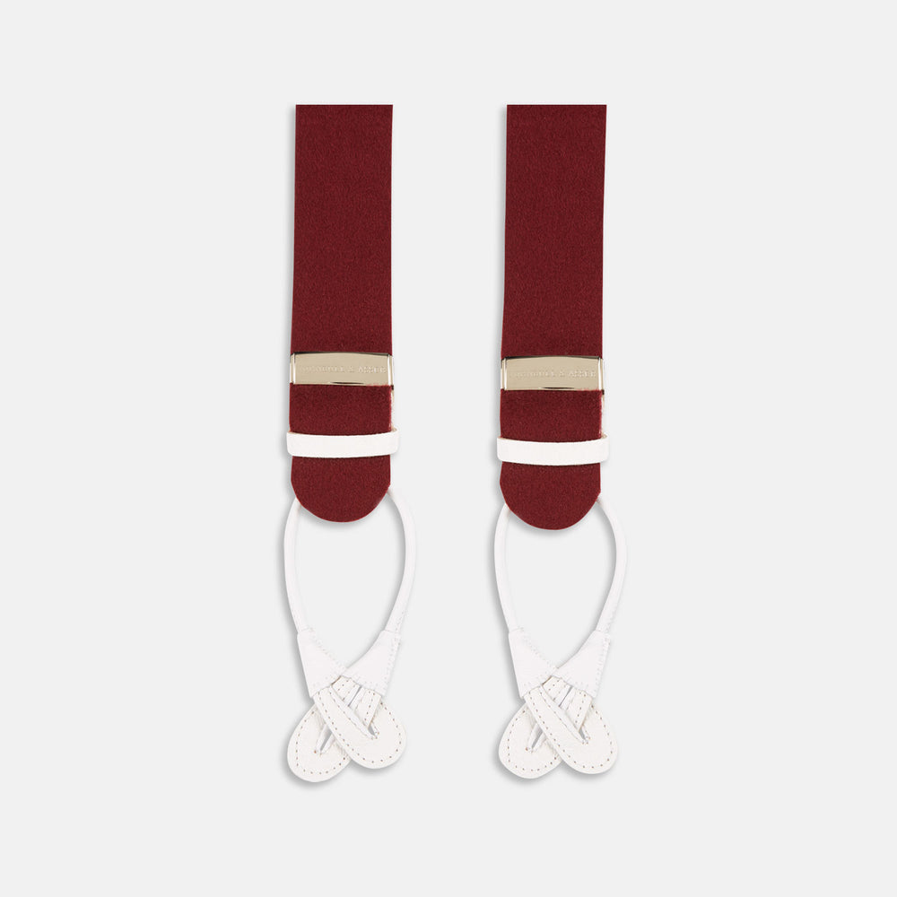 Bordeaux Adjustable Felt Braces