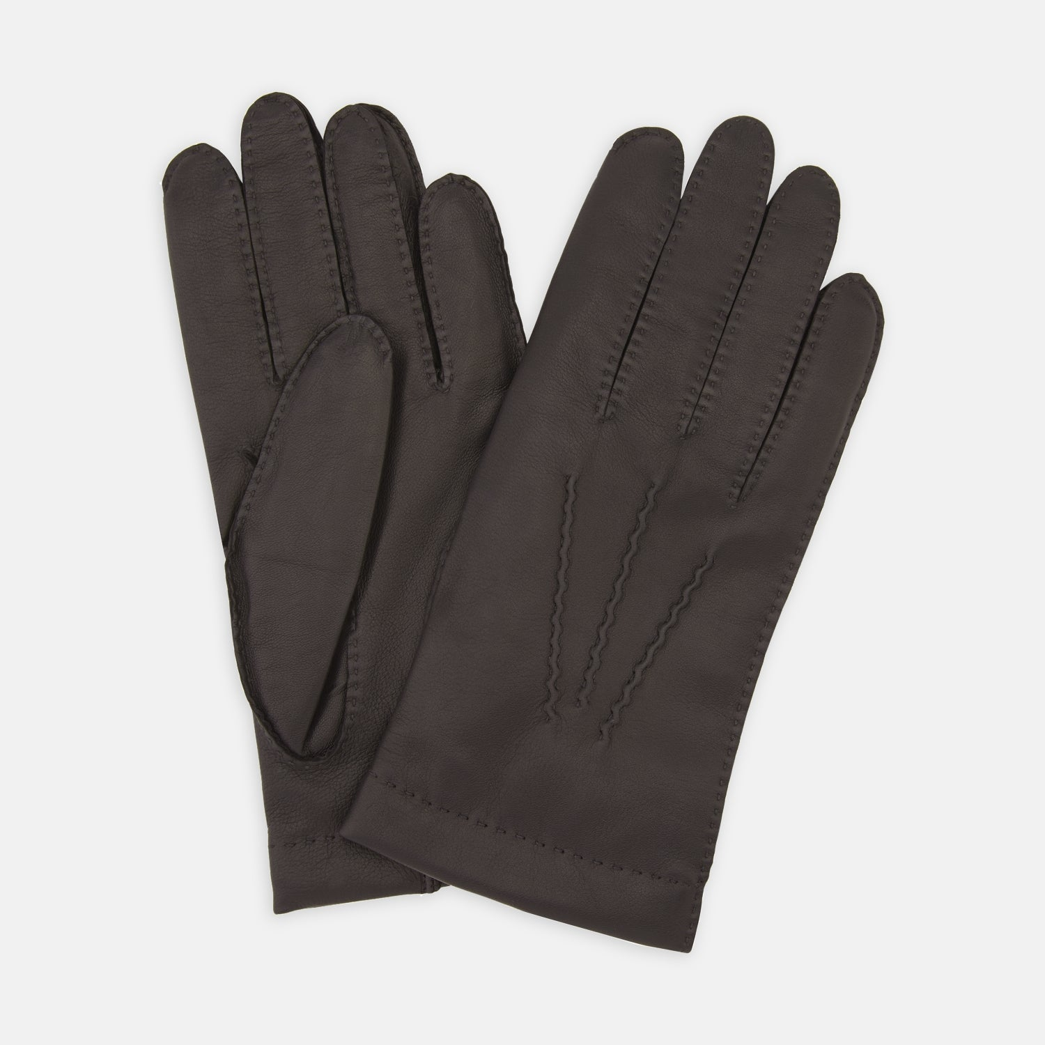 Walden Brown Leather Gloves