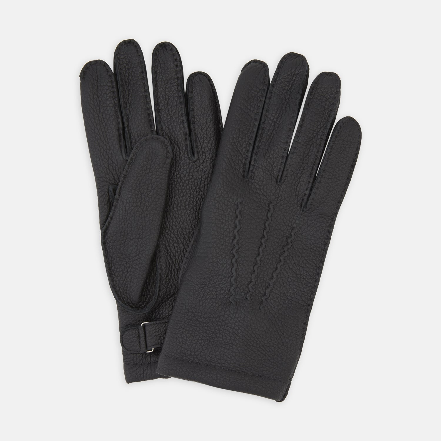 Black Kirkdale Leather Gloves