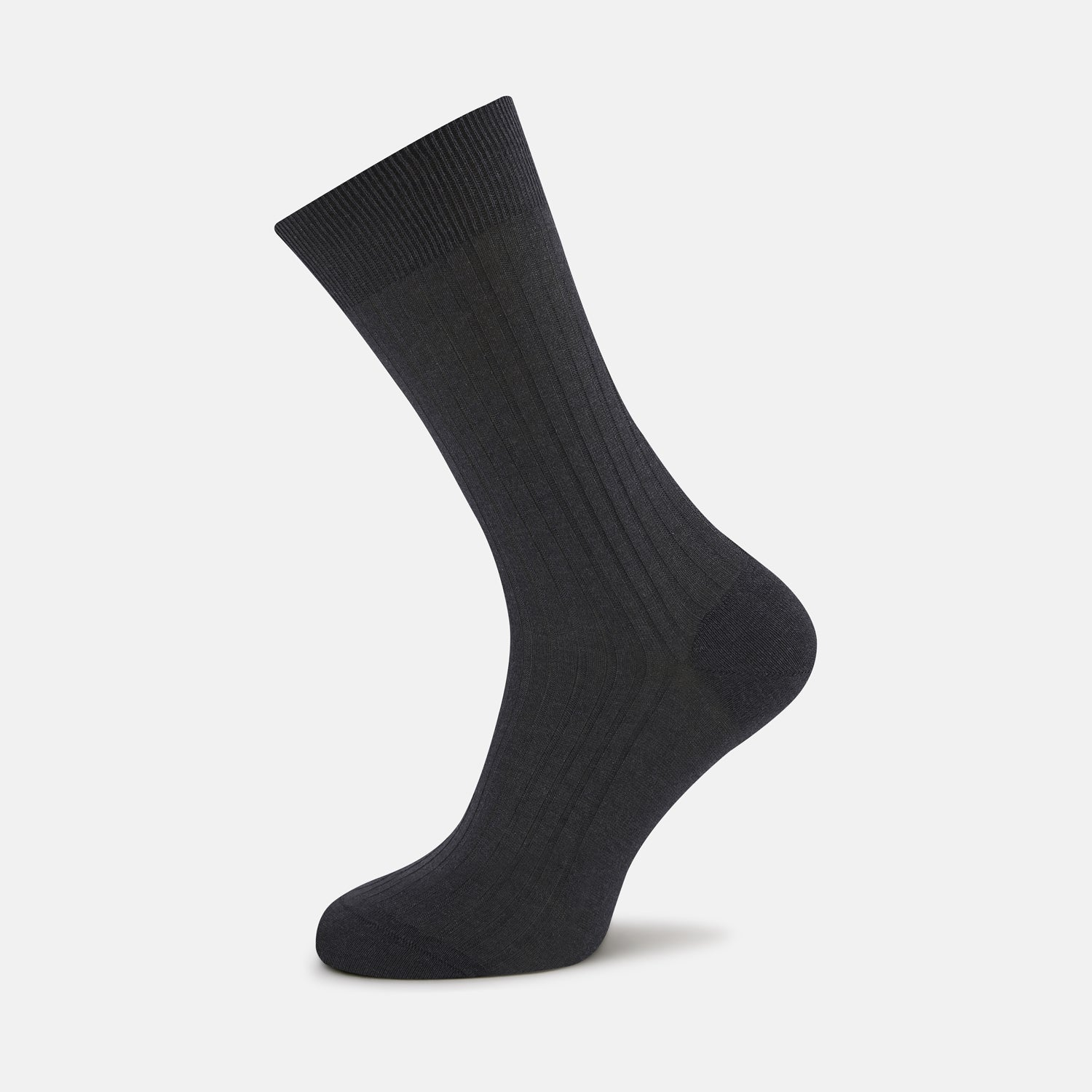 Dark Grey Short Cotton Socks