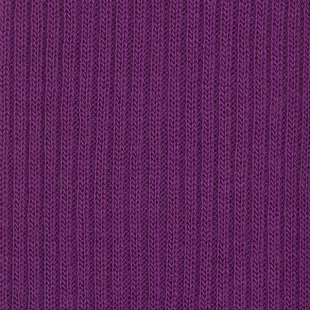 Magenta Long Merino Wool Socks