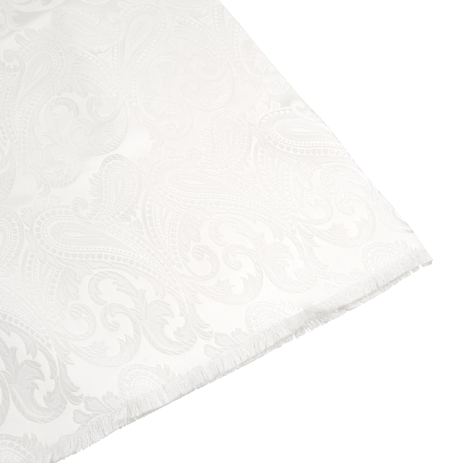 White House Paisley Silk Scarf