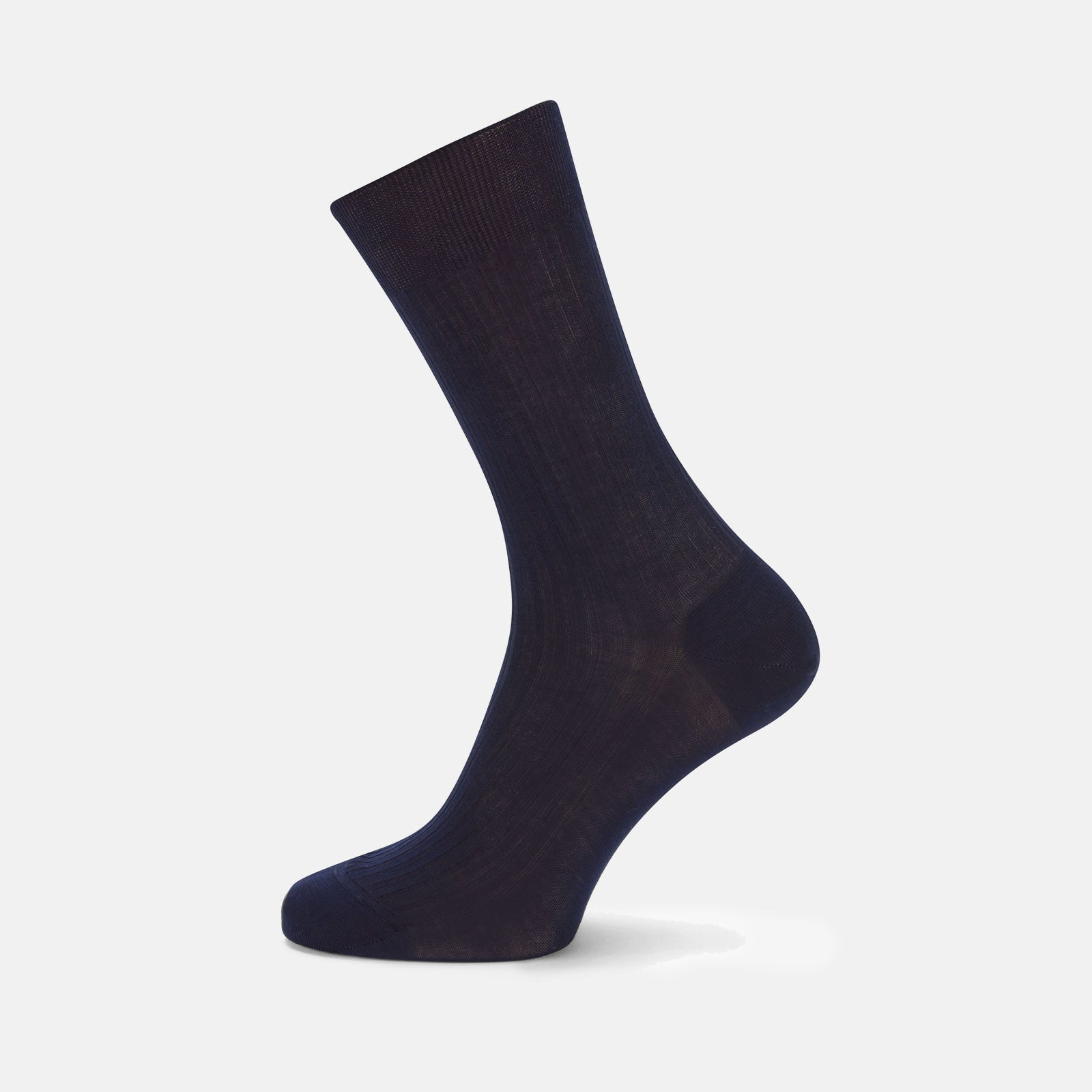 Navy Short Cotton Socks