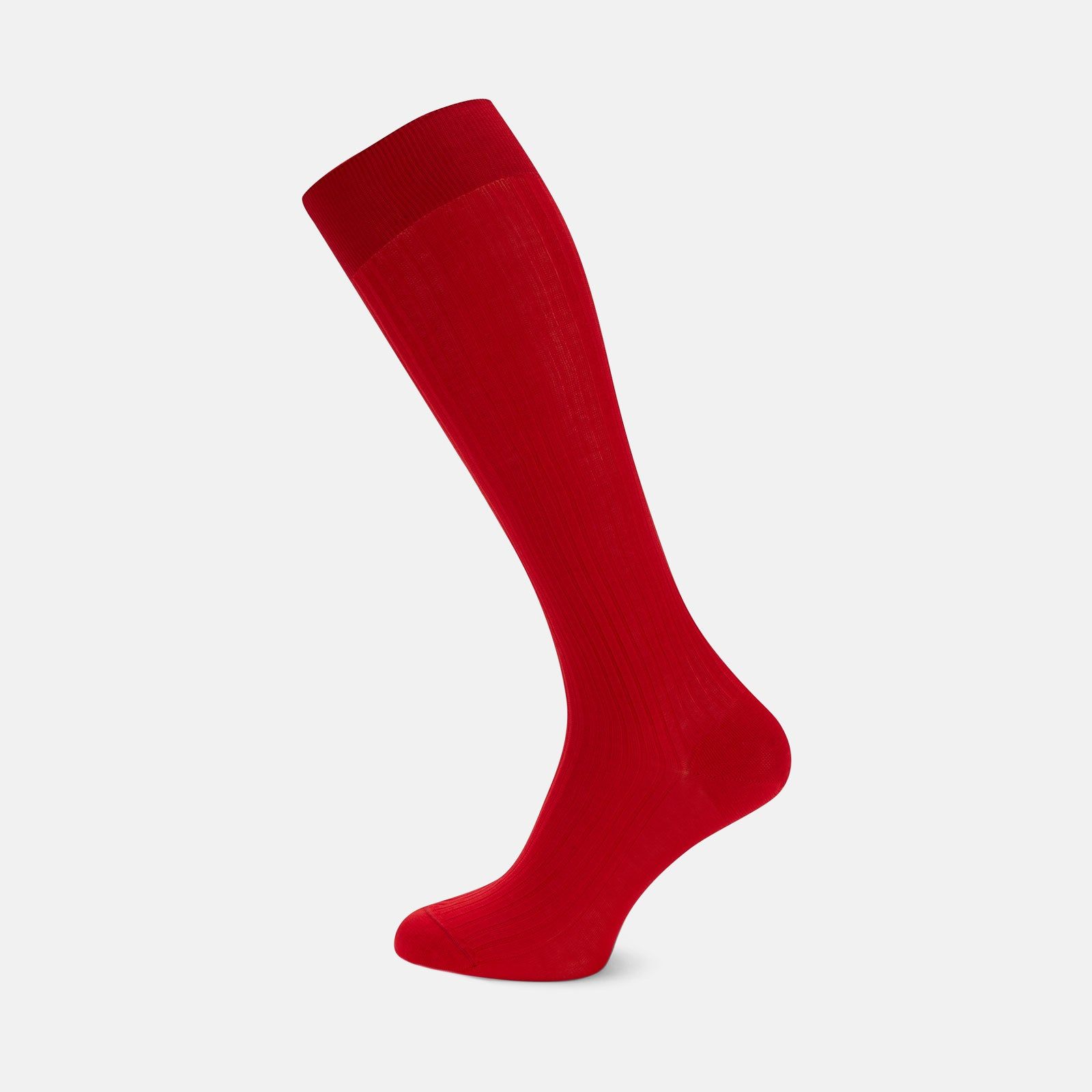 Scarlet Long Cotton Socks