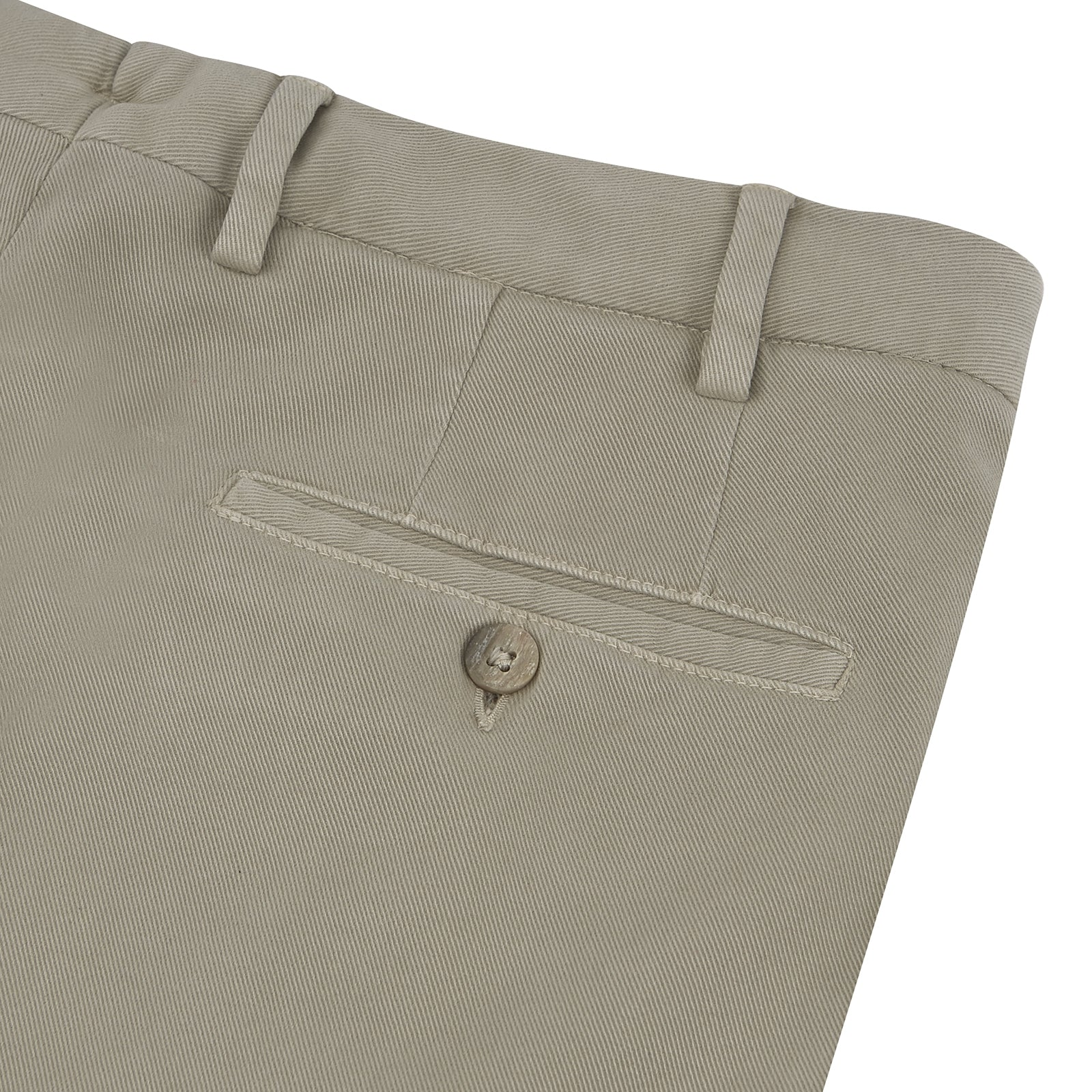 Manson Pale Tan Cotton Trousers