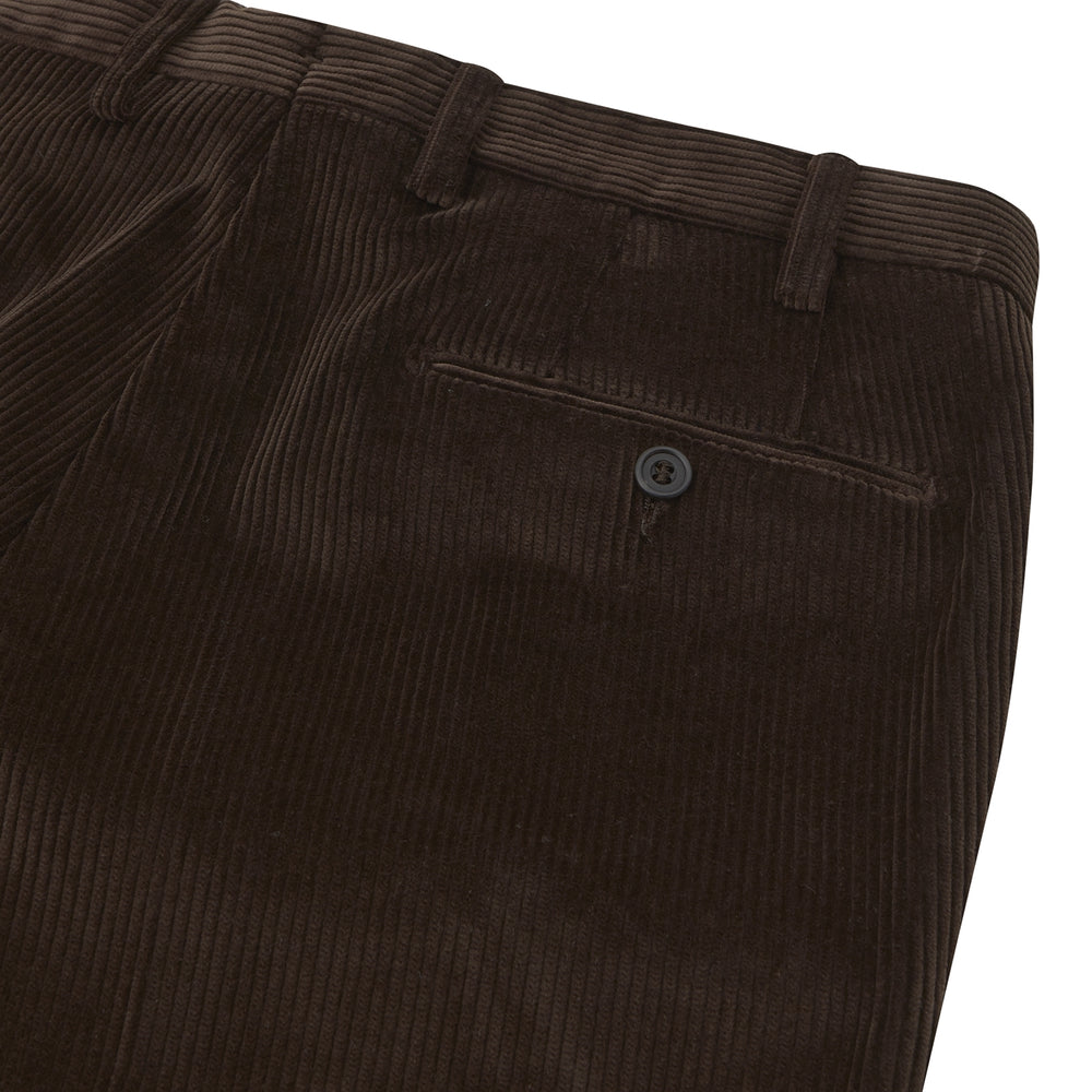 Chocolate Brown Corduroy Trousers