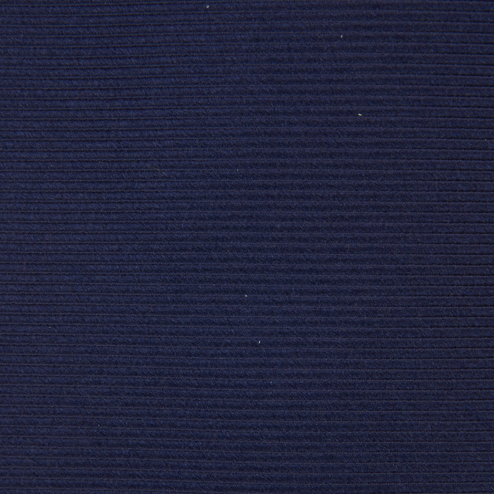 Navy Horizontal Twill Silk Tie