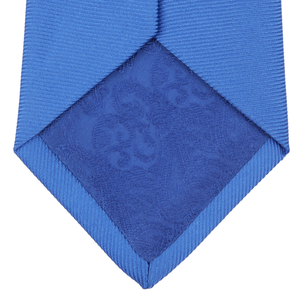 Slim Royal Blue Twill Silk Tie