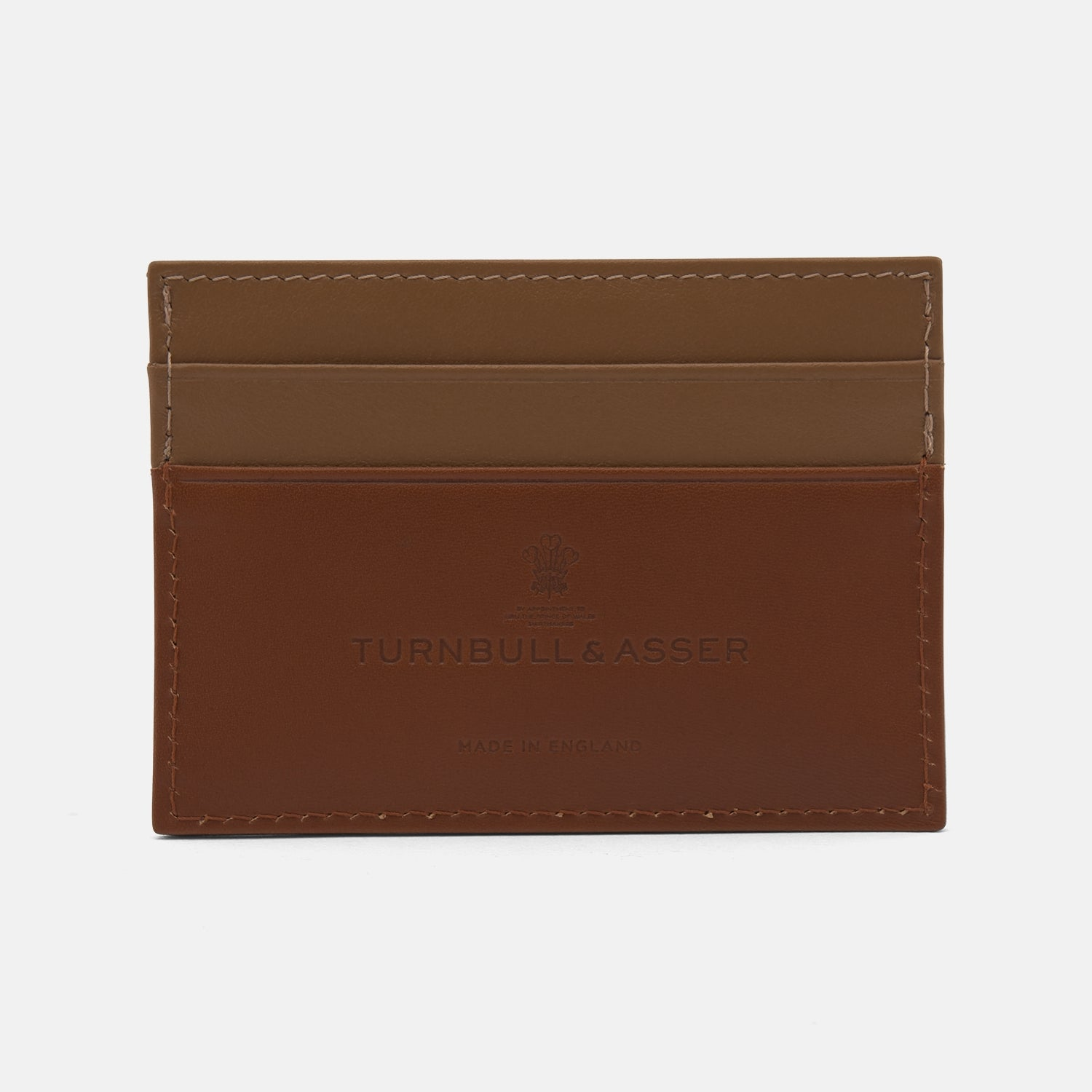 Light Tan Leather Card Case