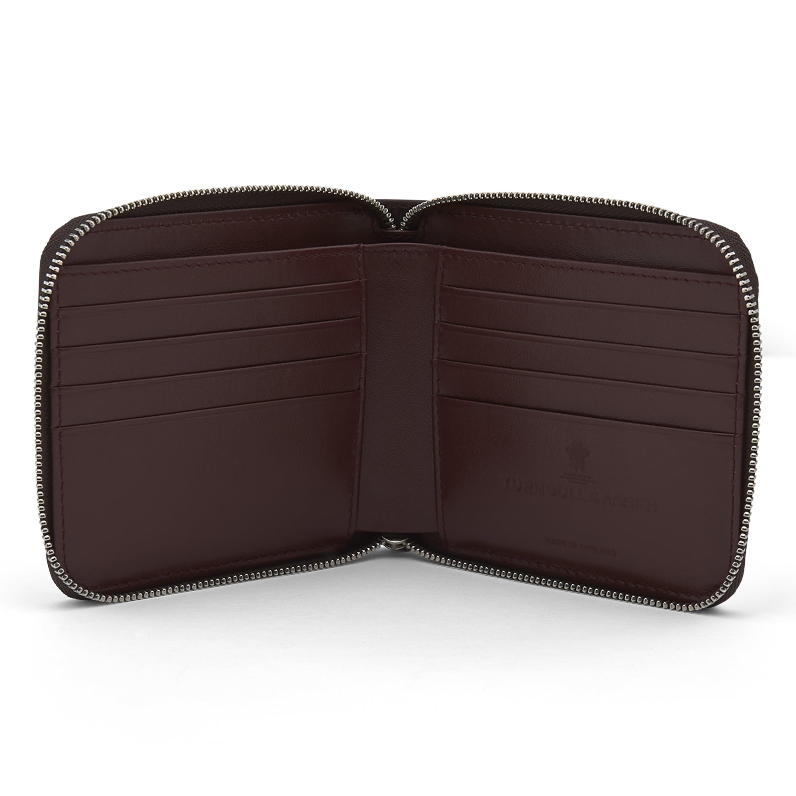 Violla Leather 8 C/C Zipped Wallet