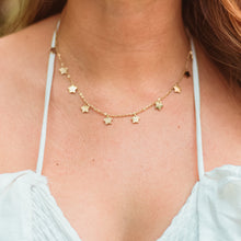Load image into Gallery viewer, Kiss the Sky Stars Necklace