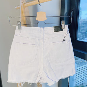 White Denim Skort