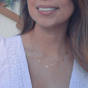 Layer up stars necklace