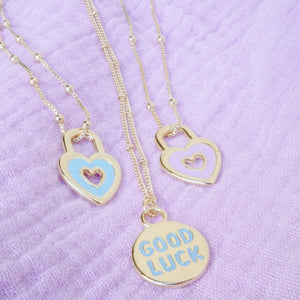 Lock Me In Your Heart Necklace