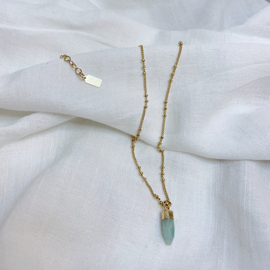 Bullet Amazonite Necklace