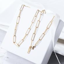 Load image into Gallery viewer, Paper Clip Necklace