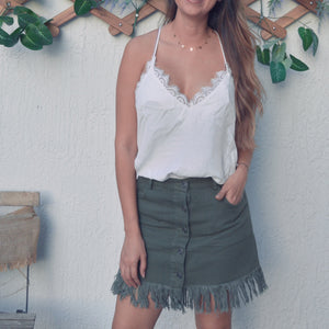 Rebel mini skirt