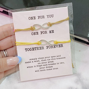One for you - One for me Bracelet