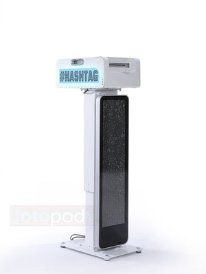 LED Hashtag Printer Case & Stand