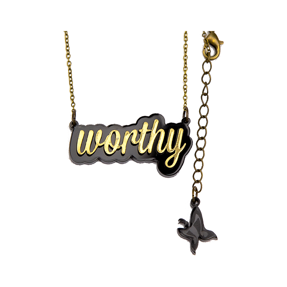 Worthy Necklace - Gold