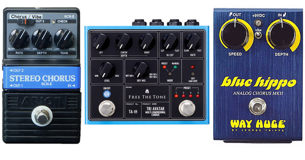MESA/Boogie® Hollywood's Top Three Chorus Pedal Picks of 2016