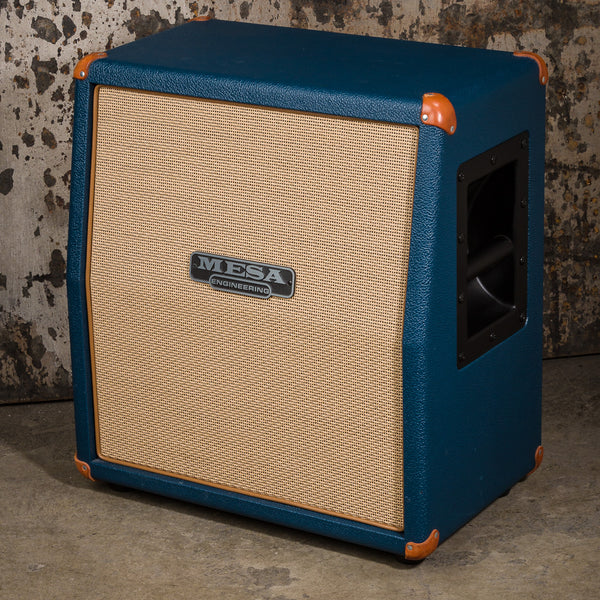 MESA/Boogie 1x12 Mini Recto Slant Cabinet - Custom Blue Bronco - USED