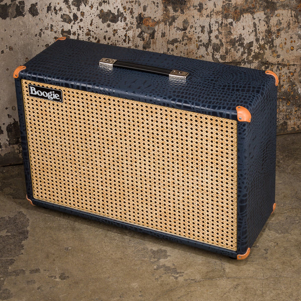 MESA/Boogie 2x12 Fillmore Cabinet - Custom Navy Croco / Wicker Grille