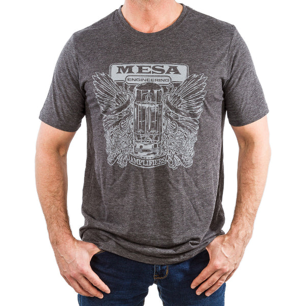 MESA/Boogie Tee Shirt - MESA Engineering Tube Crest