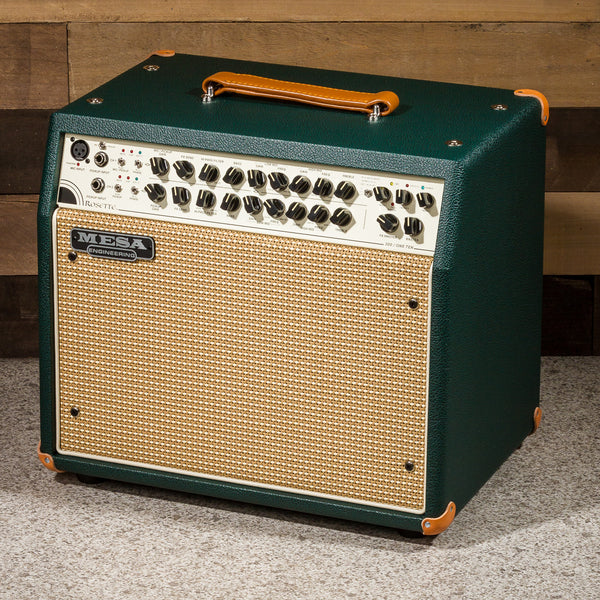 MESA/Boogie Rosette 300 / One:Ten Acoustic Combo - Custom Emerald Bronco / Cream & Tan Grille