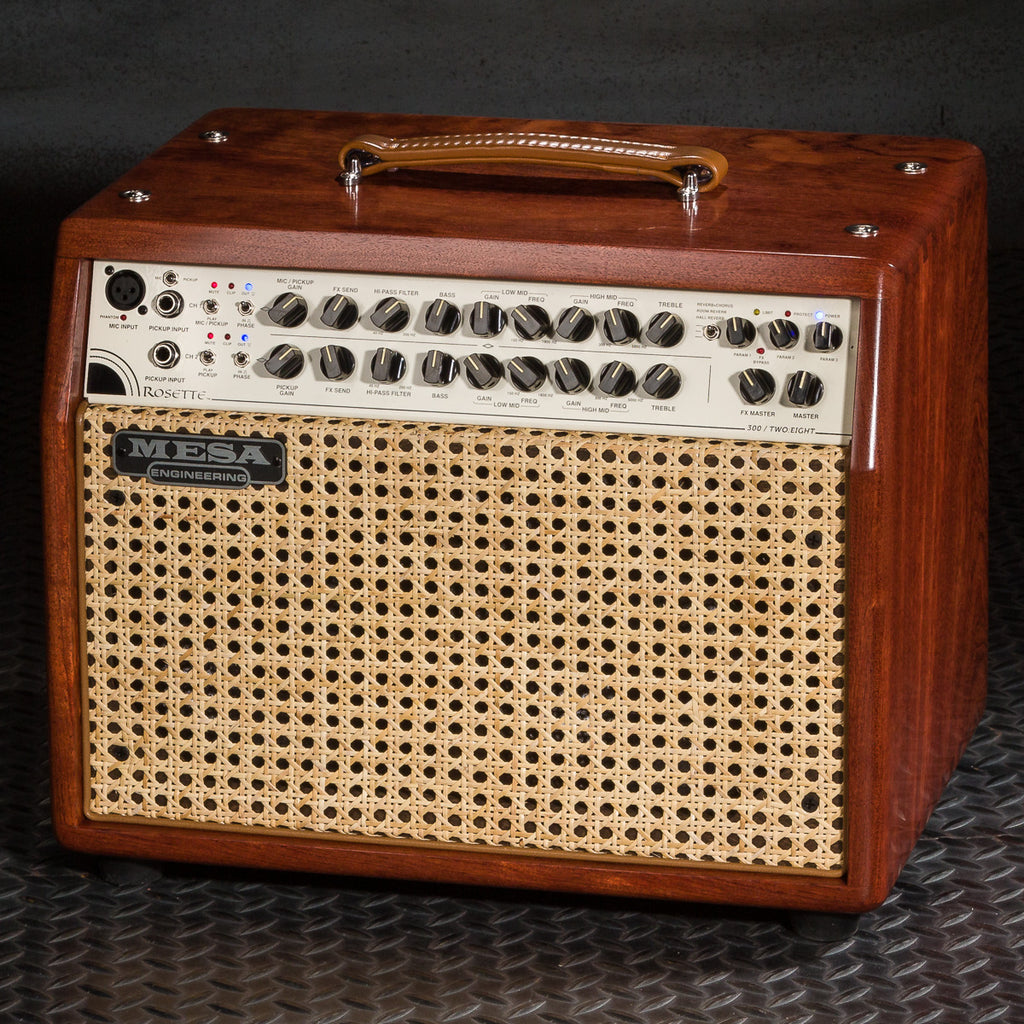 MESA/Boogie Rosette 300 / Two:Eight Acoustic Combo - Custom Premier Bubinga / Wicker Grille