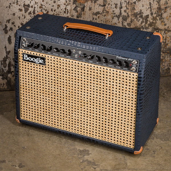 MESA/Boogie Fillmore 100 1x12 Combo - Custom Navy Croco / Wicker Grille