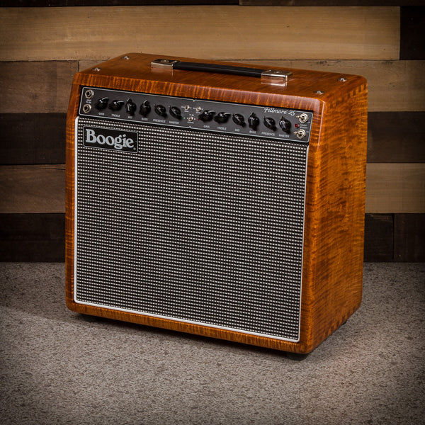 MESA/Boogie Fillmore 25 1x12 Combo - Custom Private Reserve Flame Maple with Amber Stain / Tinsel Jute