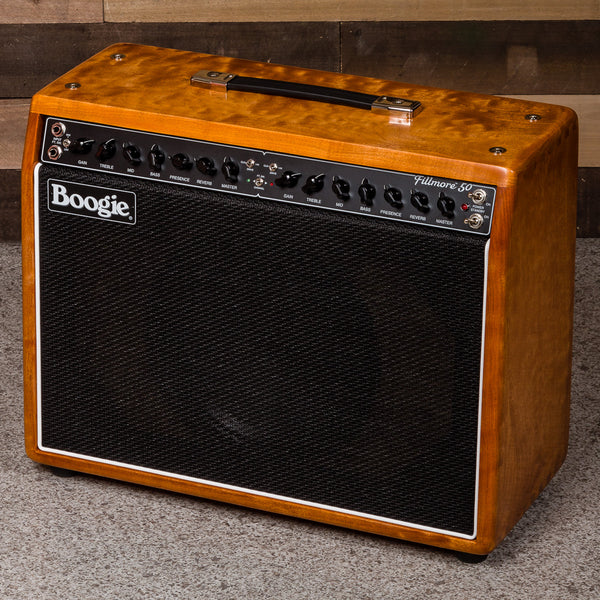 MESA/Boogie Fillmore 50 1x12 Combo - Custom Premier Quilted Maple - Black Jute