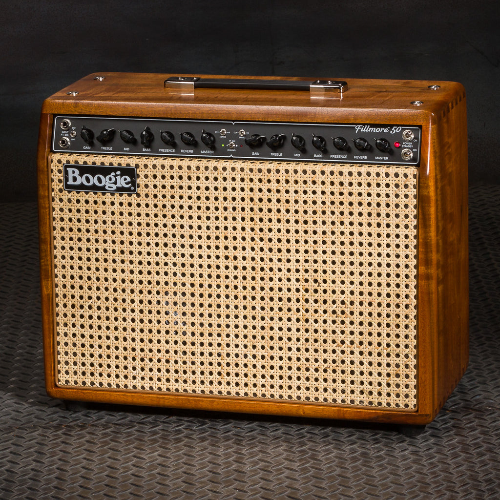 MESA/Boogie Fillmore 50 1x12 Combo - Custom Premier Myrtlewood - Bourbon Stain