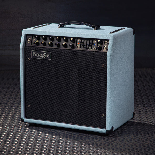 MESA/Boogie Mark Five: 35 1x12 Combo - Custom Baby Blue Bronco / Black Jute Grille