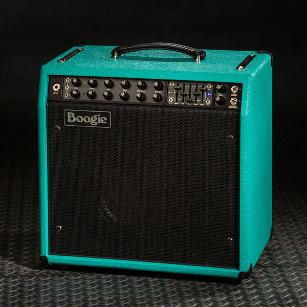 MESA/Boogie Mark Five: 35 1x12 Combo - Custom Teal Bronco / Black Jute Grille - Used - SN:M35-003513