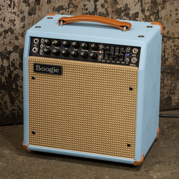 MESA/Boogie Mark Five: 25 1x10 Combo - Custom Baby Blue Bronco / Cream & Tan Jute