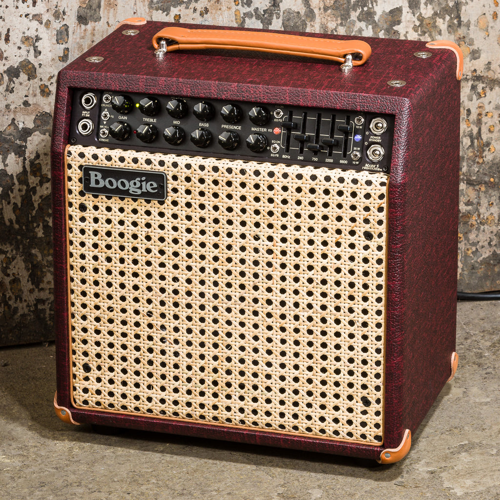 MESA/Boogie Mark Five: 25 1x10 Combo - Custom Vintage Bordeaux Bronco / Wicker