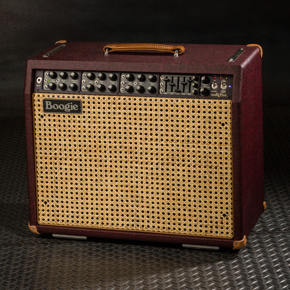 MESA/Boogie Mark V 1x12 Combo -Custom Vintage Bordeaux Bronco / Wicker Grille