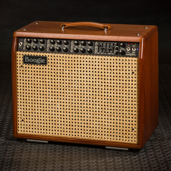 MESA/Boogie Mark V 1x12 Combo -  Custom Ribbon Mahogany / Wicker Grill