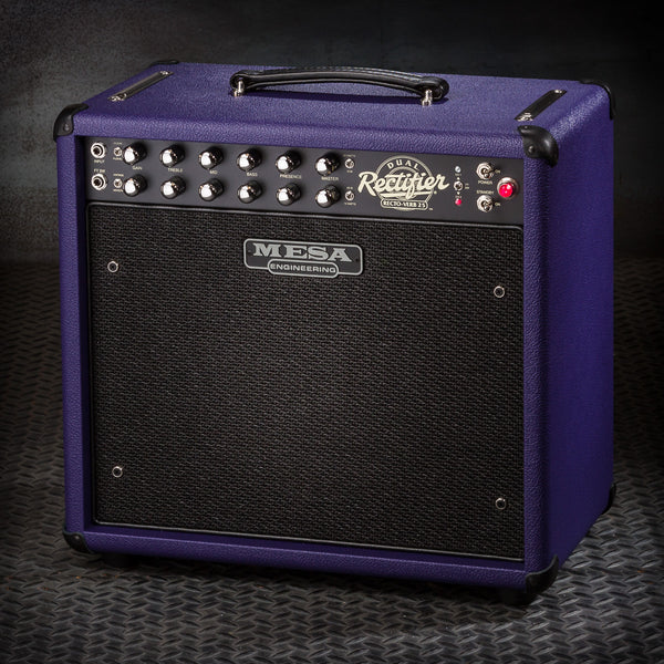 MESA/Boogie Recto-Verb 25 1x12 Combo - Custom Purple Bronco / Black Jute Grille