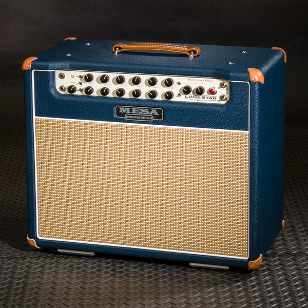 Mesa/Boogie Lone Star Special 1x12 Combo - Custom Blue Bronco - Cream & Tan Grille