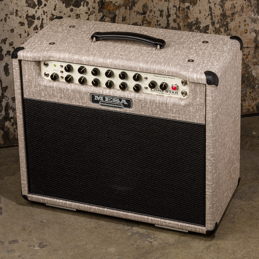 Mesa/Boogie Lone Star Special 1x12 Combo - Custom Fawn Slub Bronco - Black Grille