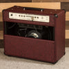 MESA/Boogie California Tweed 6V6 4:40 1x12 Combo - Custom Vintage Bordeaux / Cream & Black Jute Grille