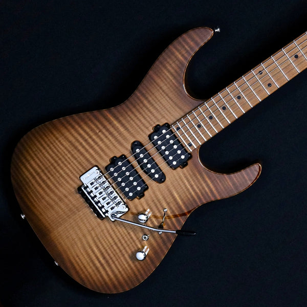 Tom Anderson Angel - Light Tobacco Shaded Edge with Binding
